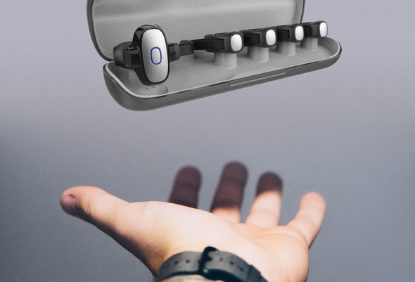 キー も ボード もないウェアラブルキーボード tap itmedia pc user