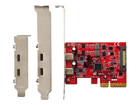 玄人志向、USB Type-Cポート2基を備えたPCIe増設カード - ITmedia PC USER