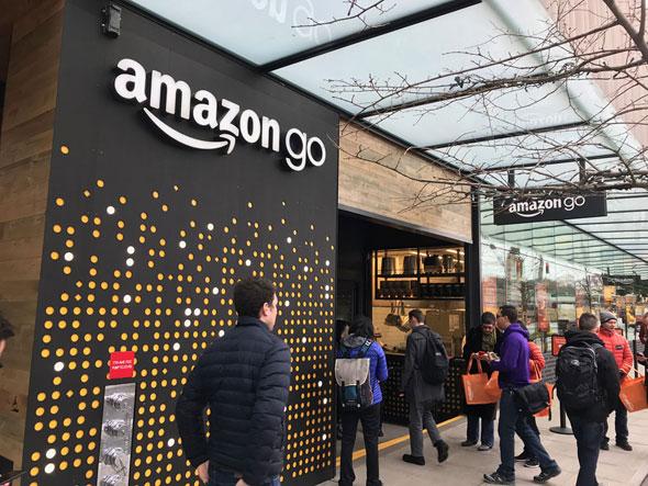 レジがない未来のコンビニ「Amazon Go」ついにオープン! 現地