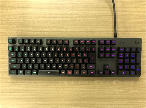 Logicool ゲーミングキーボード G512