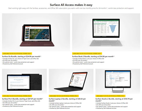 Surface All Access