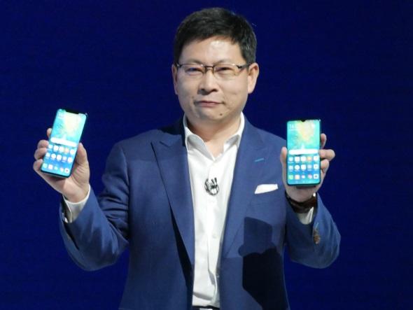 Huaweiのリチャード・ユー氏