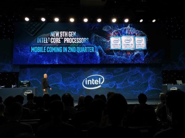 ノートPC向け第9世代Coreプロセッサは2019年第2四半期に登場予定だが、詳細は語られず