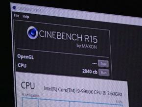 Core i9-9900Kの結果