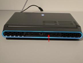 ALIENWARE Graphics Amplifier Port