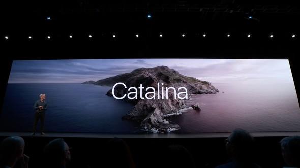 macOSの新バージョン「Catalina」は、米カリフォルニア州にある湾(あるいは島)の名前にちなんでいる