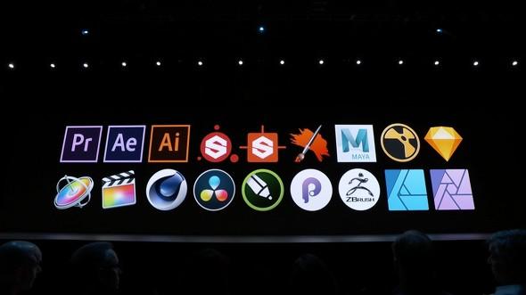 Sidecar対応アプリ