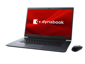 dynabook Z7(オニキスブルー)の正面