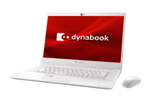 dynabook Z8(パールホワイト)の正面