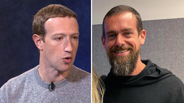 Mark Elliot Zuckerberg Jack Patrick Dorsey