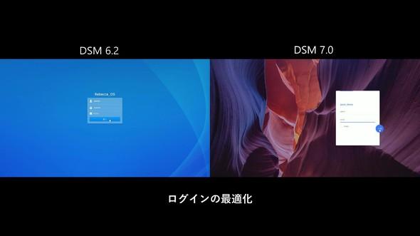 DSMへのログイン時間を大幅に短縮