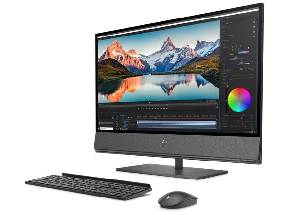 HP ENVY 32 All-in-One(Webカメラ収納時)