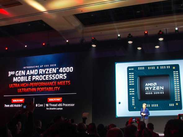 第3世代Ryzen Mobile