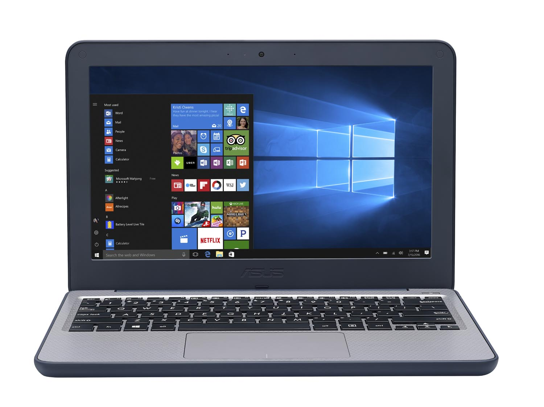 ASUS、Celeron採用の11.6型ミニノートPC Windows 10 Pro搭載