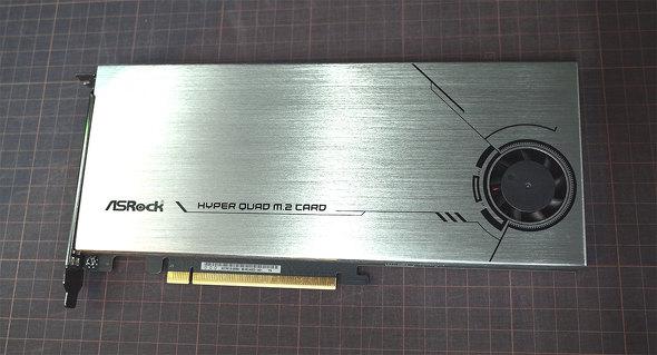 Hyper Quad M.2 Card