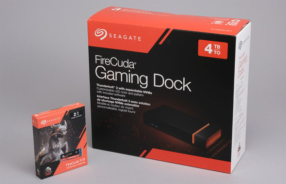 FireCuda Gaming Dock