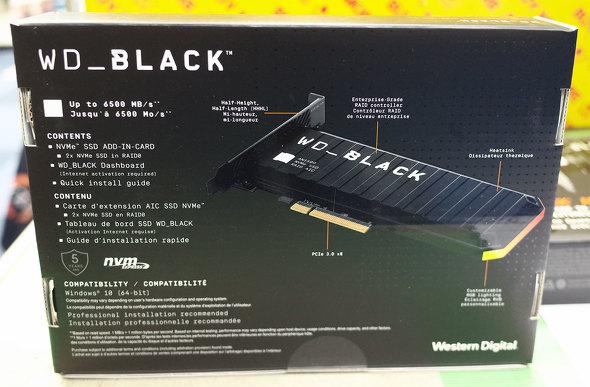 WD Black AN1500 NVMe