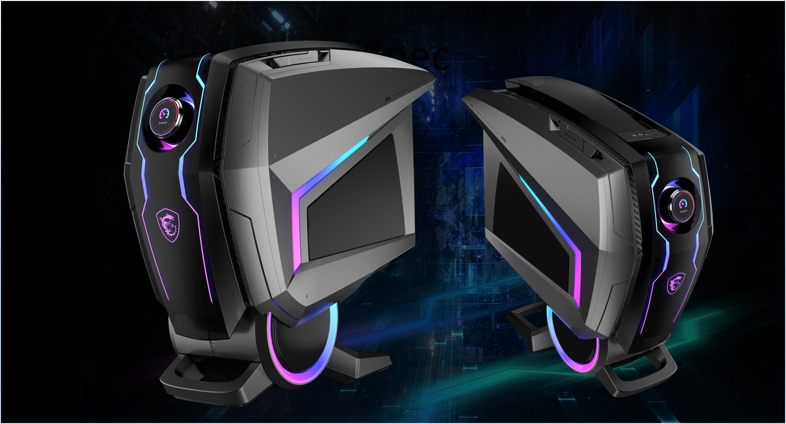 MSI、ユニークなデザイン筐体を採用するRTX 3080搭載ハイスペックゲーミングPC