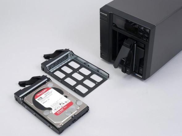 HDDの装着