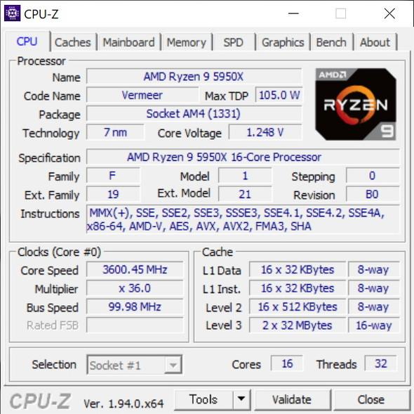 CPU-Z(その1)