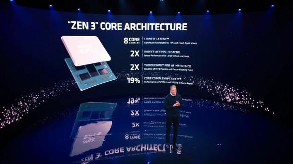 Zen 3アーキテクチャ