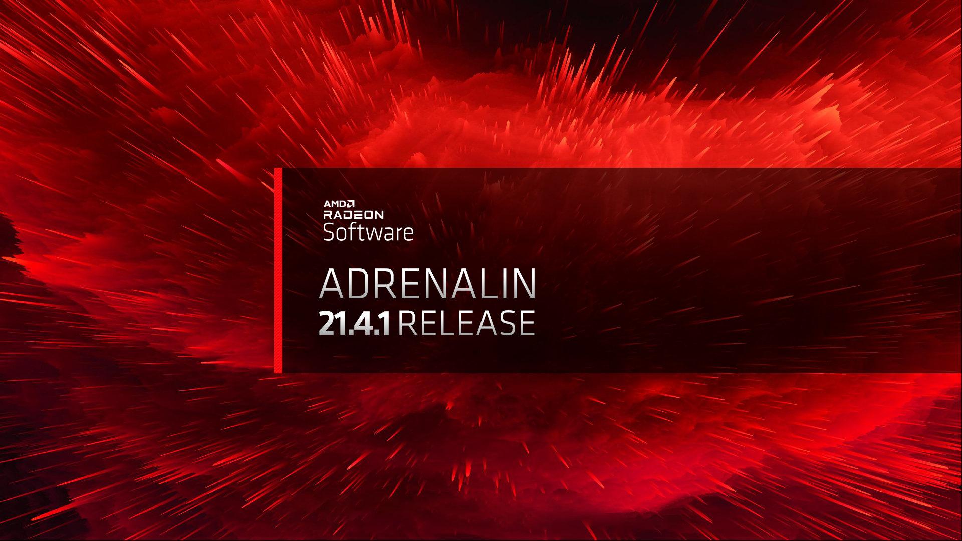 Вышел новый графический драйвер AMD Radeon Adrenalin 2020 21.4.1