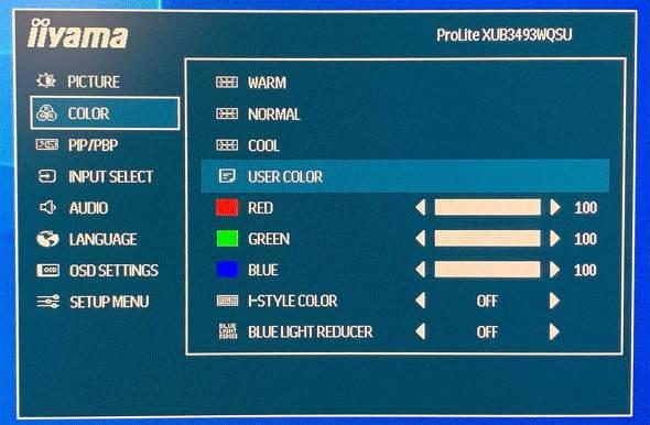 ProLite XUB3493WQSU