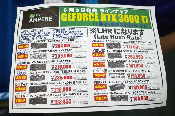 GeForce 3080 Ti