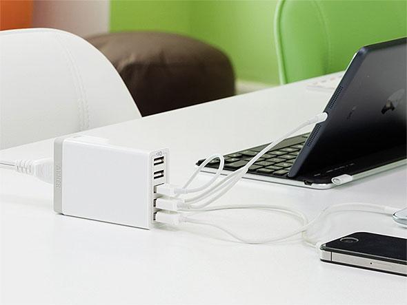 高性能USB急速充電器