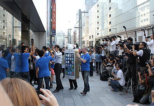 iPhone 5s発売日