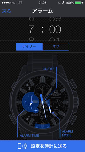 CASIO WATCH�{