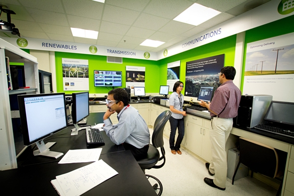 GEのSmart Grid Lab