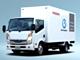 日産自動車のEVトラックはひと味違う、電池を冷凍用に使う車両も