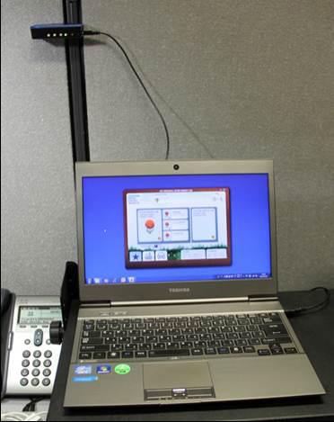 PC with Sensor