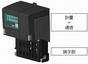 図1 東京電力が設置するスマートメーターのイメージ