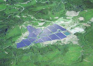 図1 熊本県芦北町に建設する太陽光発電所