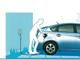 補助金を使えば14万円、住宅向けの壁掛型電気自動車充電器
