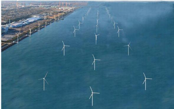 発電 風力 所 最大 世界 の 洋上
