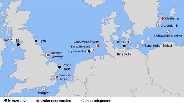 英仏海峡から116基の風車で30万世帯へ、洋上風力発電で世界をリード ...