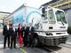 欧州初の「100%電気トラック」が公道を走行、BMWが施設間輸送で配備