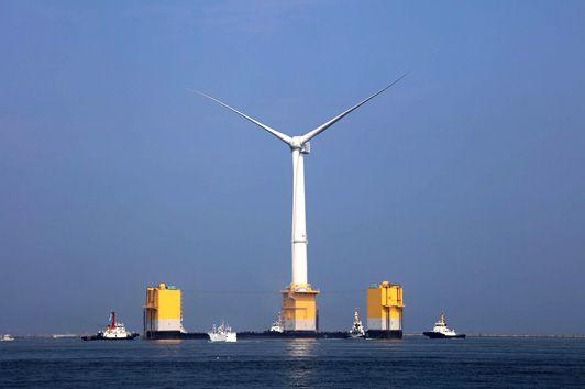 風力 世界 最大 の 洋上