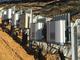 小型パワコン185台を分散配置、起伏のある土地を生かすメガソーラー