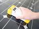 太陽光パネルの検査を片手で可能に、ハンディ型の傷検査装置が登場