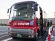 ワイヤレス給電可能な電動バスが公道へ、まめな充電で航続距離をカバー