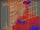 コンクリート充填状況を事前に3次元解析、材料配合や施工法を最適に