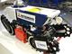 防爆性能を持つ探査ロボット、トンネル内やプラントなどの検査に活躍