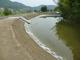 1000のため池を持つ岡山県笠岡市、水上メガソーラーが広がる