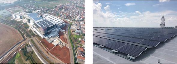 太陽光:インドネシアのイオンで太陽光発電、二国間クレジットでCO2削減に