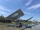 「追尾式太陽光×田んぼ」でソーラーシェアリング、10年で投資回収