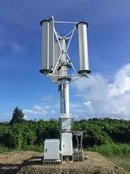 台風発電は実現するか、チャレナジーが風車を2020年に量産へ 1 3 スマートジャパン